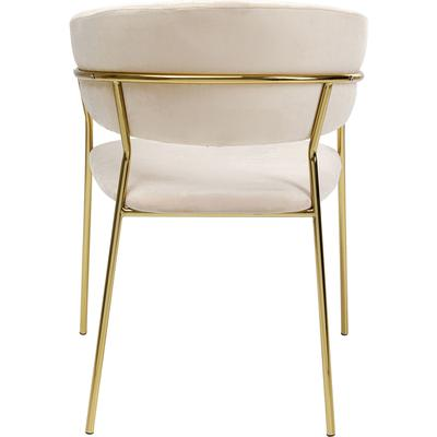 Chair with Armrest Belle Creme (2/Set)