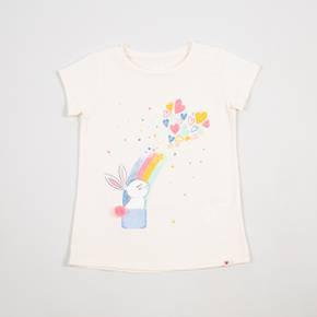 Camiseta manga corta Little Girl