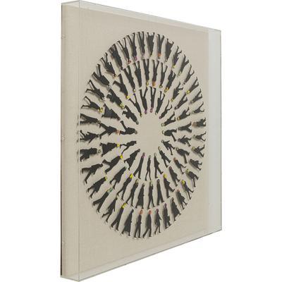 Cuadro (objetos) Art Business Circle 90x90cm