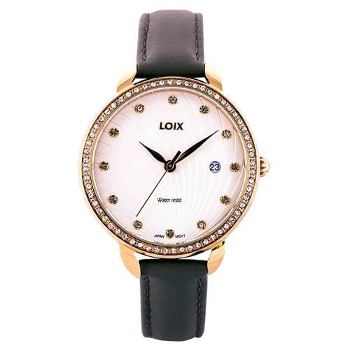 Reloj Blanco - Dorado - L1114-03