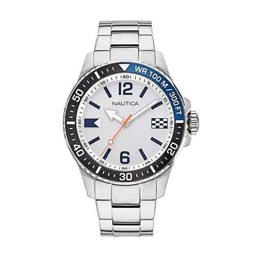 Reloj Freeboard Blanco - Plateado