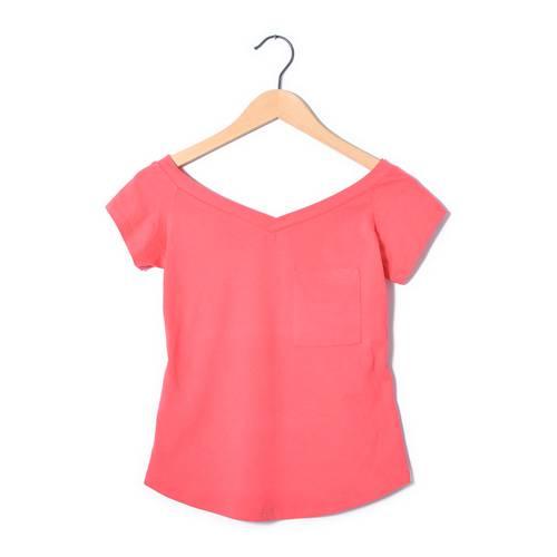 Camiseta Leidy Rosé Pistol Para Mujer  - Rosado