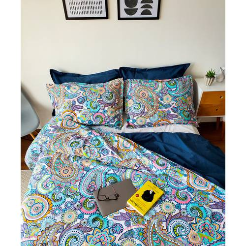 Duvet Doble Faz Arabesco Multi