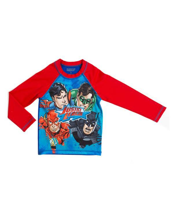 Camiseta Baño Niño Justice League