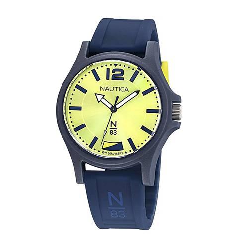 Reloj Java sea Amarillo - Azul