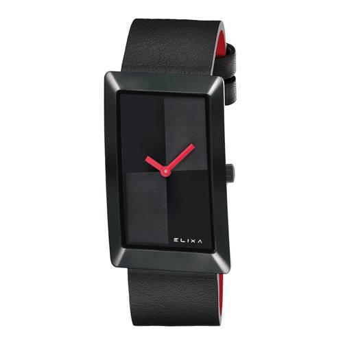 Reloj Finesse Rojo/Plateado 4-L413 - ELIXA