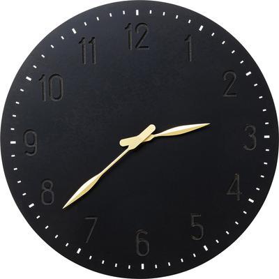 Reloj pared Mailo negro Ø50