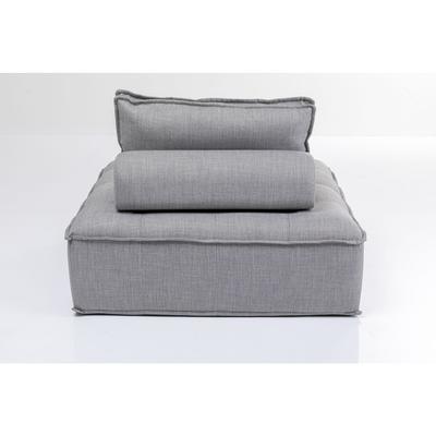 Sofá element Studio gris con cojines