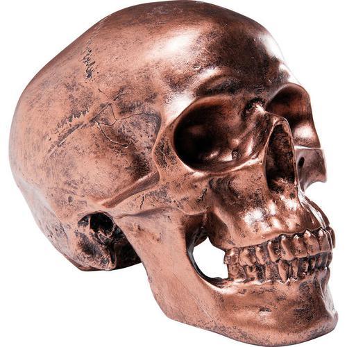 Alcancía Cráneo cobre Antique