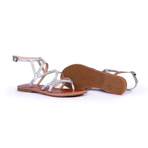 Zapatos Sam Plateado
