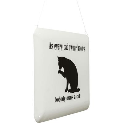 Cartel decorativo Cat Owner