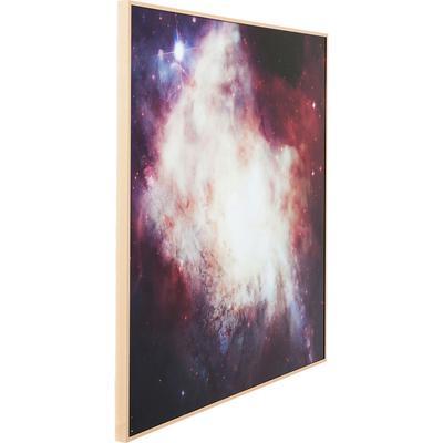 Cuadro Alu Big Bang 80x80cm