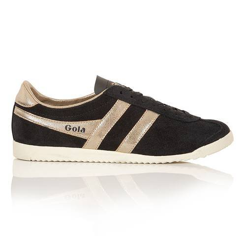 Tenis Mujer Bullet Mirror Cla189 Black/Gold A189By - Gola