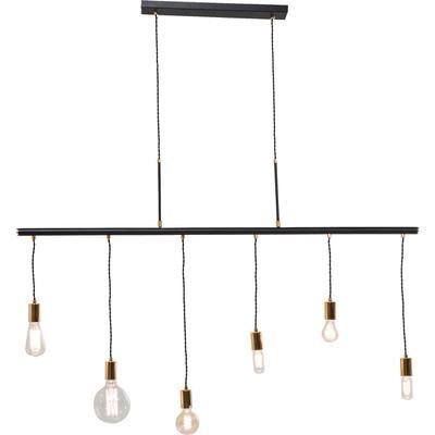 Lámpara Pole Black Six