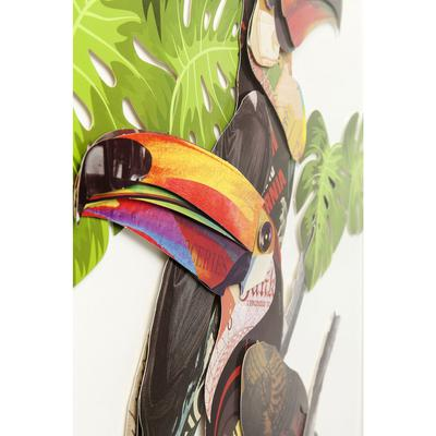 Cuadro Art Paradise Bird Couple 70x50cm