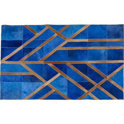 Alfombra Lines azul 170x240cm