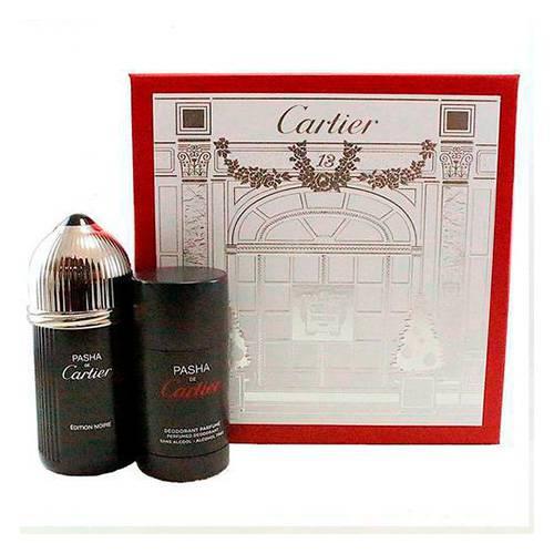 Perfume Pasha Noir 3.4 Set 2 Pzas M 5899