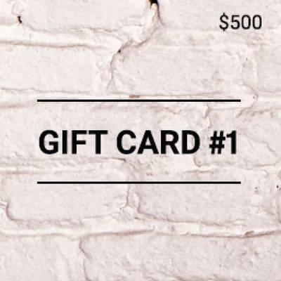 Gift Card por $500
