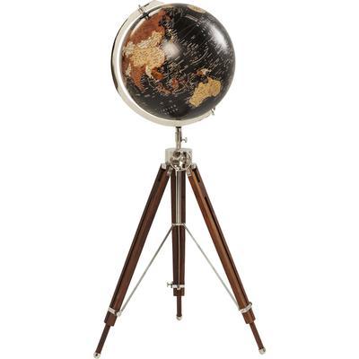Objeto decorativo Globus Earth negro