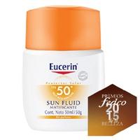 Eucerin Protector Solar FPS 50+ Sun Fluid Facial Matificante  50 ml