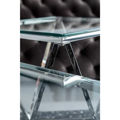Mesa centro Cristallo 80x80cm