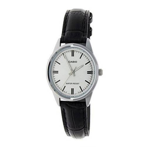 Reloj análogo plateado-negro V005L-7A