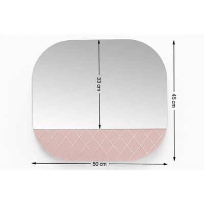 Espejo Cafe Society 50x45cm