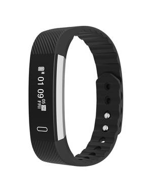 Smartband Id115 Bluetooth Deportivo Waterproof Sah016 Negro - BEDATA