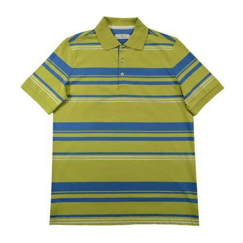 Camiseta Pol Rayas Jersey Verde