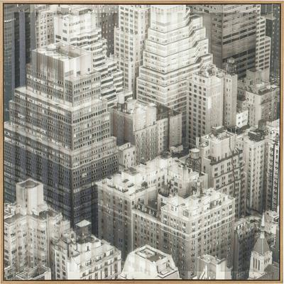 Cuadro Art 3D City View One 80x80cm