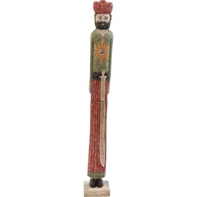 Objeto decorativo Indian Couple Raja 93cm