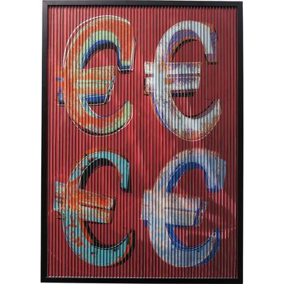Cuadro Art 3D Euro  118x83cm