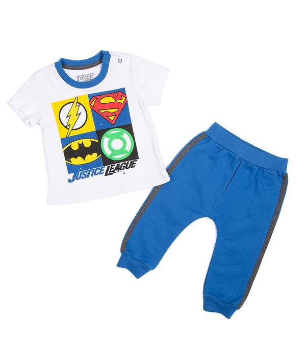 Conjunto Bebito Justice League
