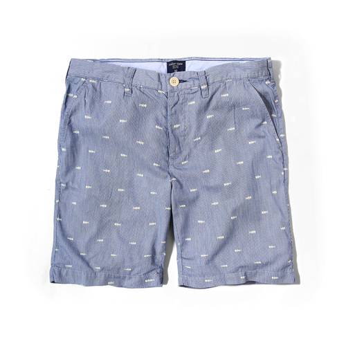Short Color Siete Para Hombre - Azul