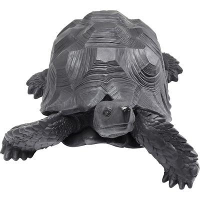 Figura decorativa Turtle negro grande