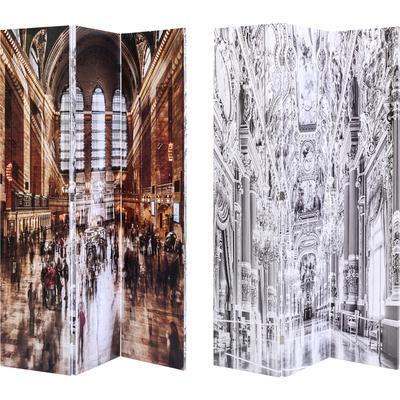 Biombo Versailles vs Central Station 120x180cm