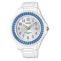 Reloj digital plateado-blanco H-2B