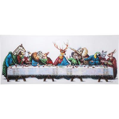 Cuadro Last Supper 100x240cm