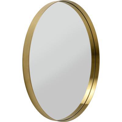 Espejo Curve MO latón Ø80