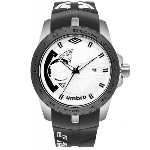 Reloj Plateado/Negro - Umb-Sw02-4