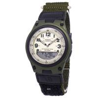 Reloj anadigi blanco-verde -3BV