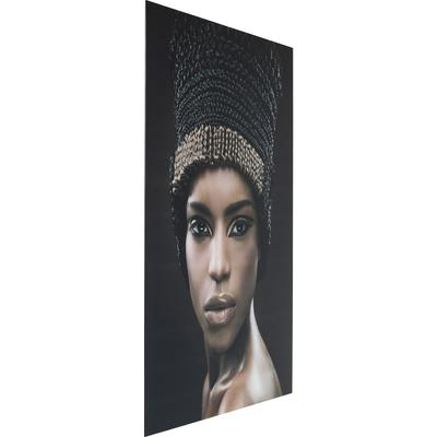 Cuadro cristal Hairstyle Face 150x100cm