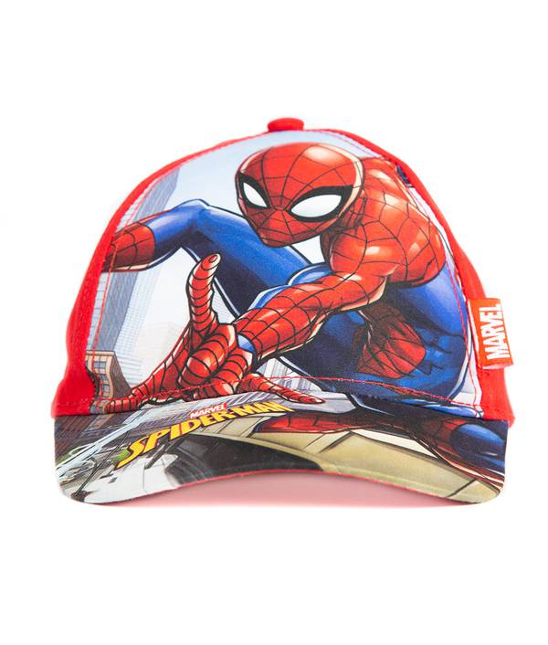 Gorra Niño Spiderman Rojo