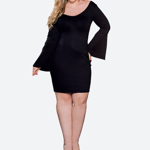 Vestido Corto 44235 Negro