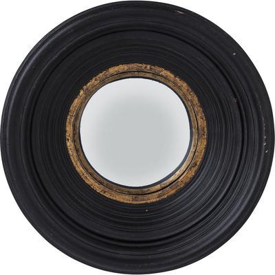 Espejo Convex negro Ø48cm