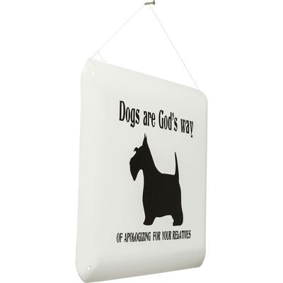 Cartel decorativo Dogs