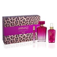 Animale Instinct Femme Edp Spray 100Ml + Body Mist 100 Ml + Edp Purse