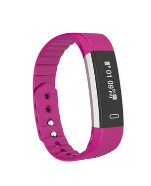Smartband Id115 Bluetooth Deportivo Waterproof Sah017 Purpura - BEDATA