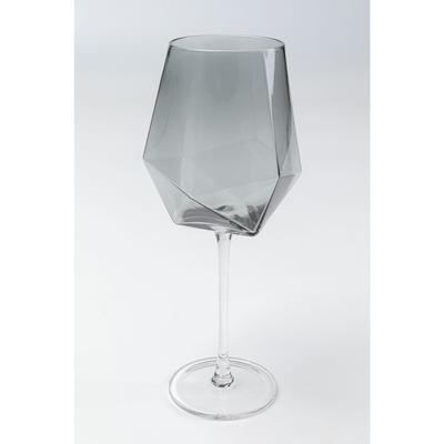 Vaso vino Diamond Smoke