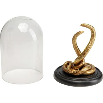 Objeto decorativo Snake Couple